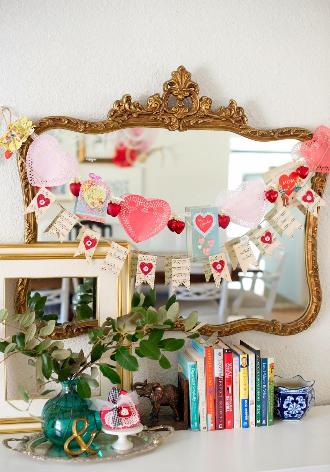 domestic fashionista handmade valentine u0027s day decor