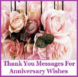 Thank you messages anniversary anniversary thank you messages for anniversary wishes m4hsunfo