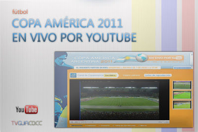 Youtube | Copa América 2011, en vivo