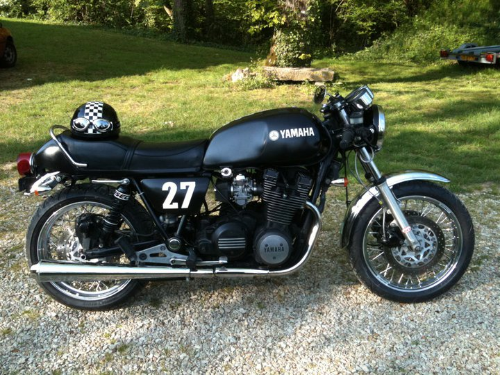 Cafe Racer Yamaha XS 400 1980 DO THE TON Images