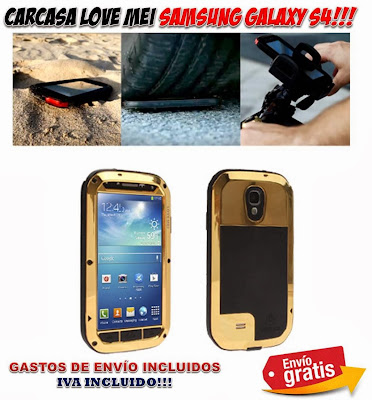carcasa protectora Samsung Galaxy S4