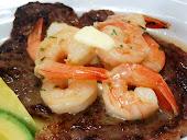 Garlic Butter Shrimp & Steak