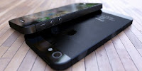 Real iPhone 5 assembled concept