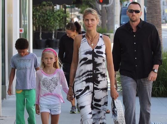 Heidi Klum And Martin Kristen Beach Chatter Busy: H...