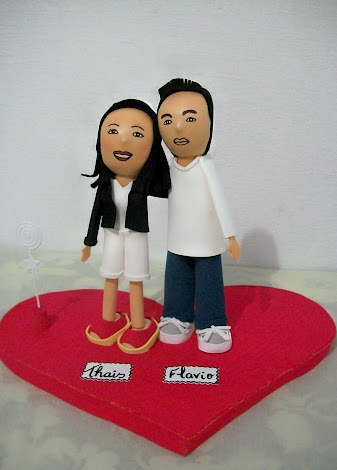 CASAL PERSONALIZADO EM EVA