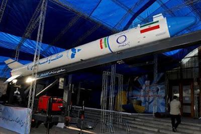 Roket Kavoshgar 4 milik Iran