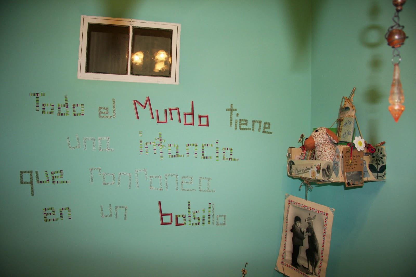 Alsondelalma frases de celo de colores para decorar paredes - La casa de mi tresillo ...