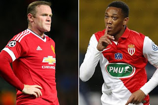 Rooney and Martial