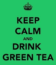 every where and anywhere keep drinking  a cup of green tea ....