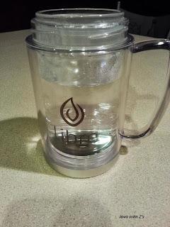 Libre Mug Filled with Hot Water