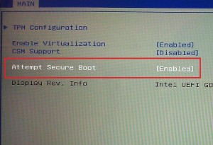 Linux is not ready to UEFI BOOT SECURE
