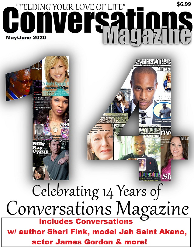 Click the cover below to order Conversations Magazine's Anniversary Issue