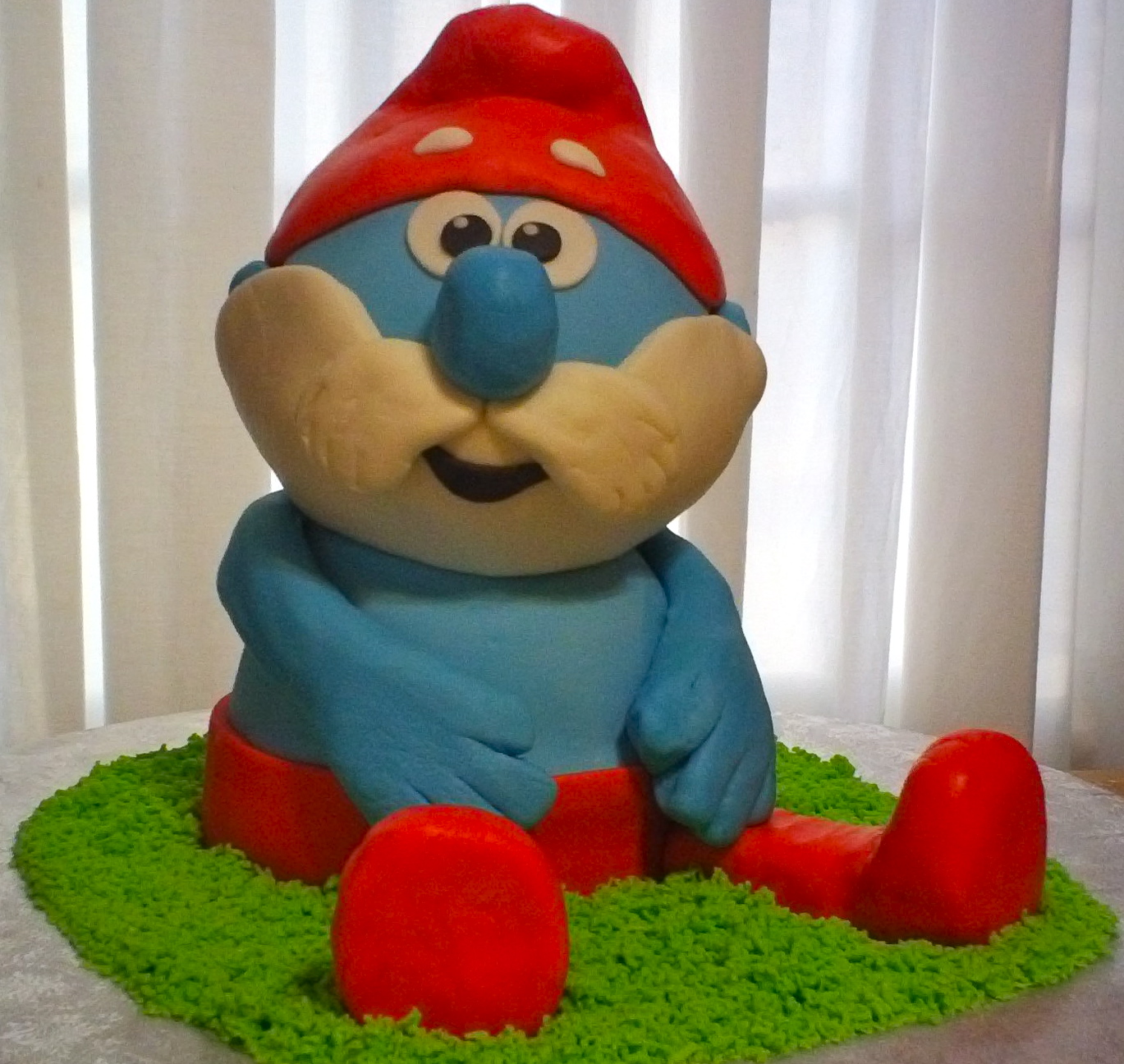 Debbies Little Cakes Papa Smurf