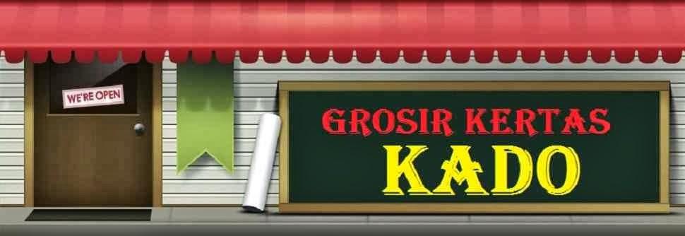 GROSIR KERTAS KADO