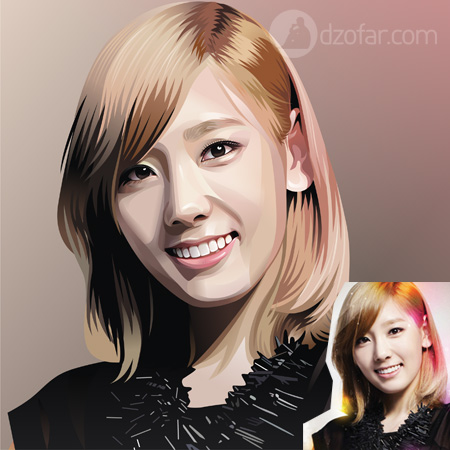 Taeyeon Vector Real