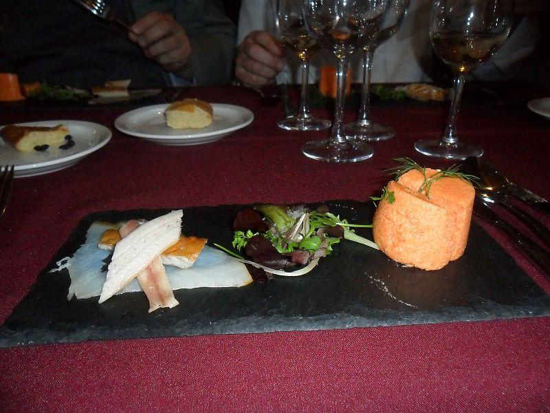 Bavaroise de poivron rouge meli melo de poissons fumes et for Prix entree poisson rouge wintzenheim
