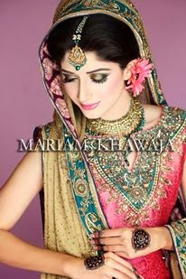 Mawra hocane latest bridal pics 2013