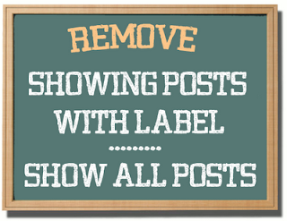 label, blogger, remove, how to