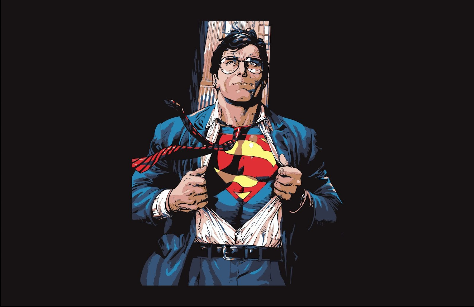 Superman clark kent vector game for Kent superman