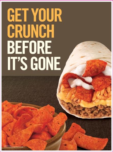 News  Taco Bell - Beefy Crunch Burrito ReturnsTaco Bell Beefy Crunch Burrito