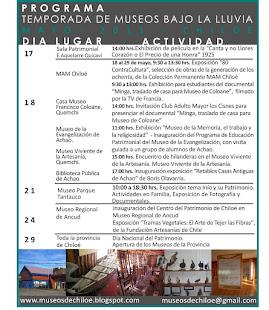 Programa Mayo 2011
