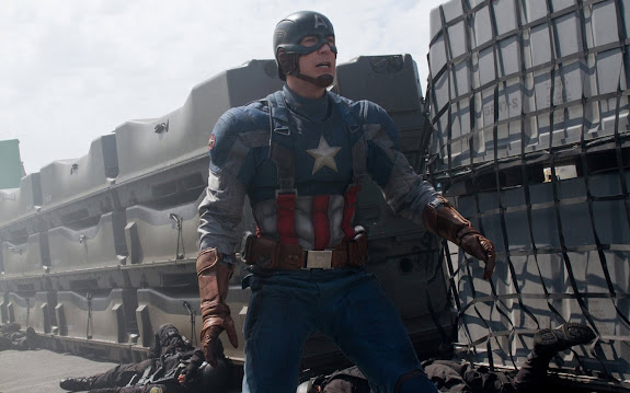 chris evans as steve rogers / captain america 2