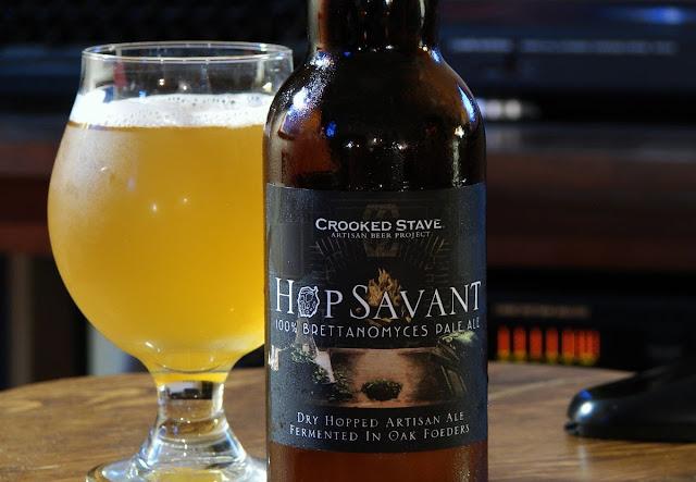 Crooked Stave Hop Savant 100% Brett Pale Ale