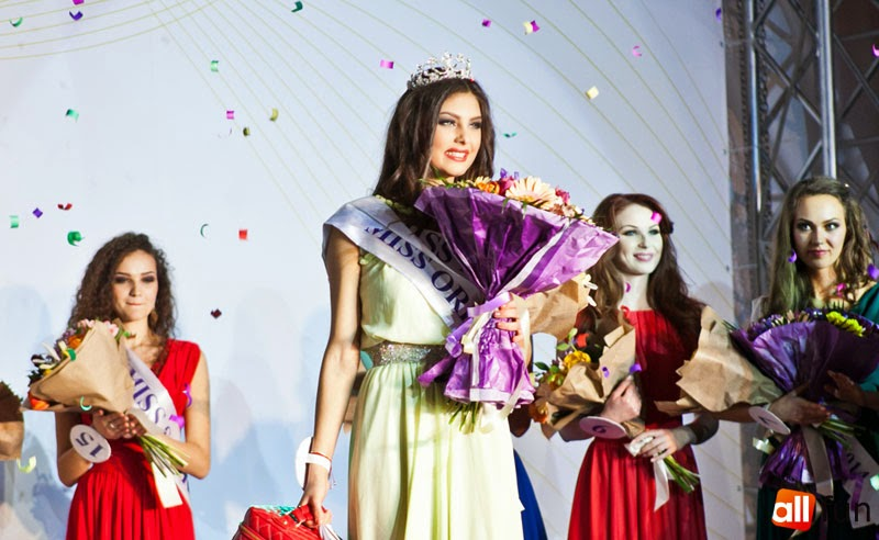 Miss Moldova 2014 winner Alexandra Carantu