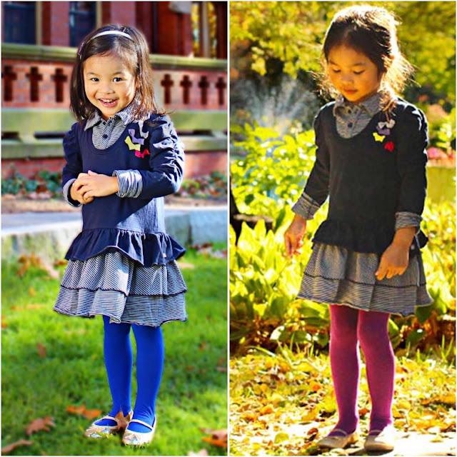 Petit Lem | Girl's Fall Fashion | School Dress | Chichi Mary
