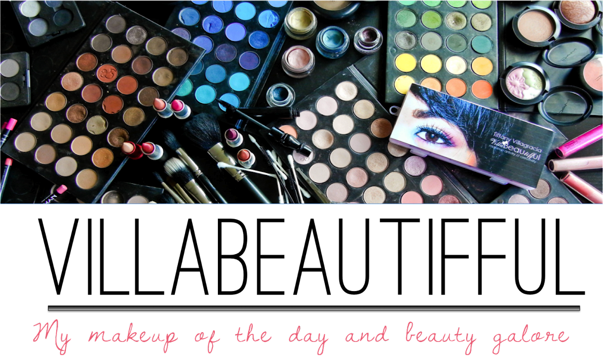 villabeauTIFFul - my makeup of the day & beauty galore