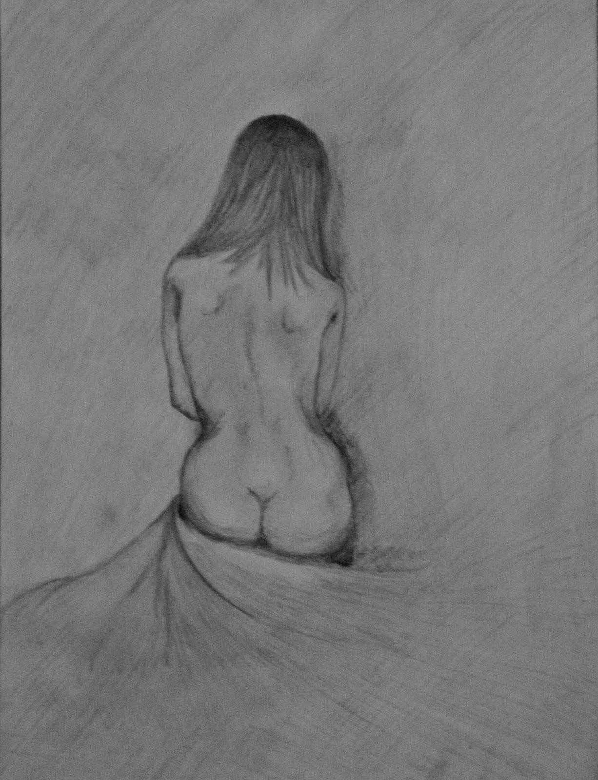 Рисунки карандашом мам голых