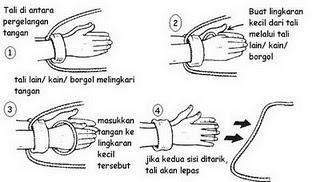 Trik Sulap Melepaskan dan Memotong Ikatan Tali