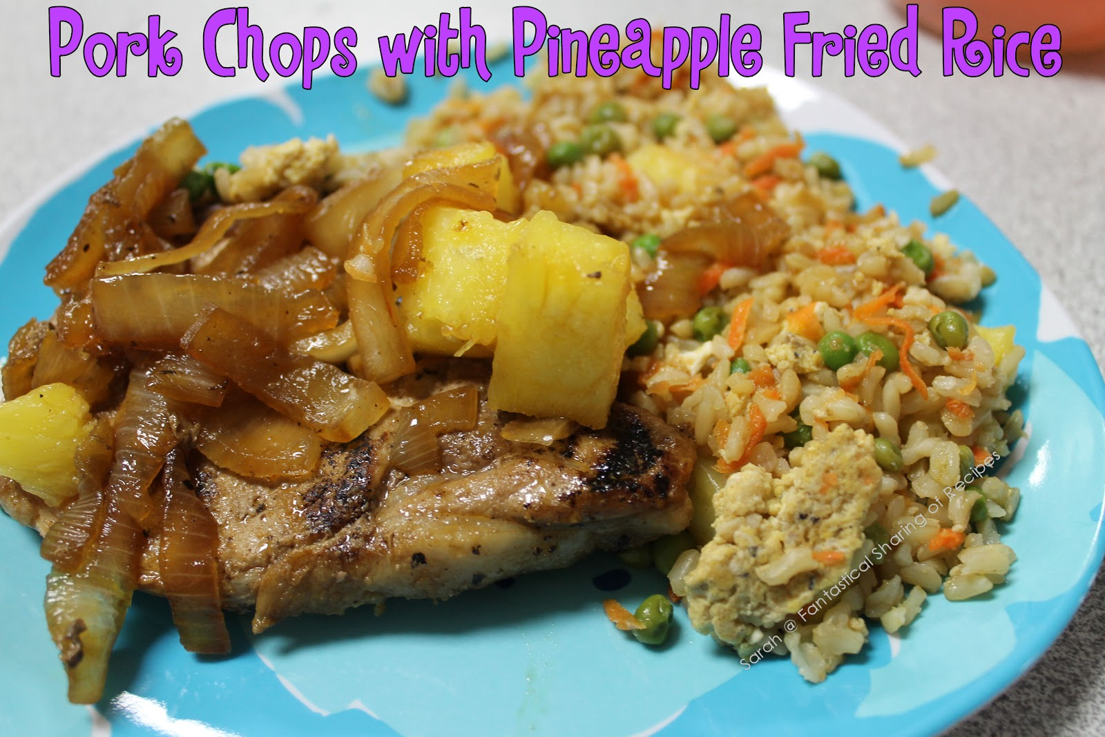 Fantastical Sharing of Recipes: Pork Chops and Pineapple ...