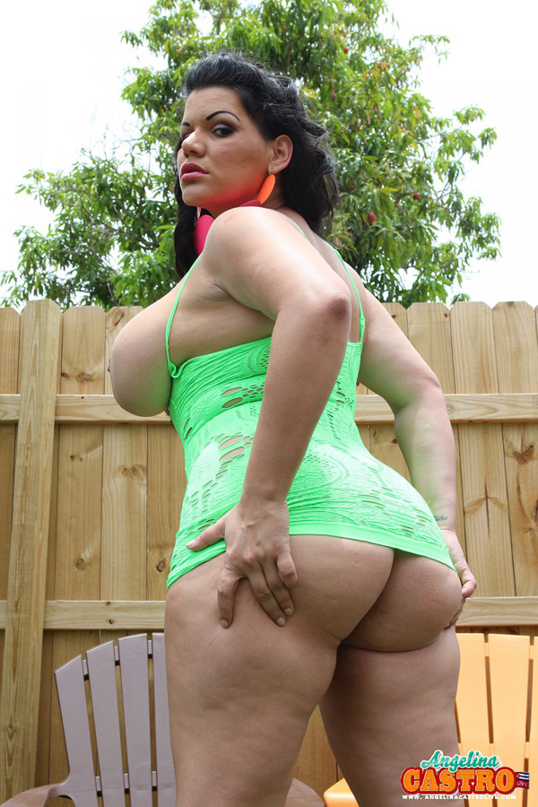 Looks angelina castro big ass can find