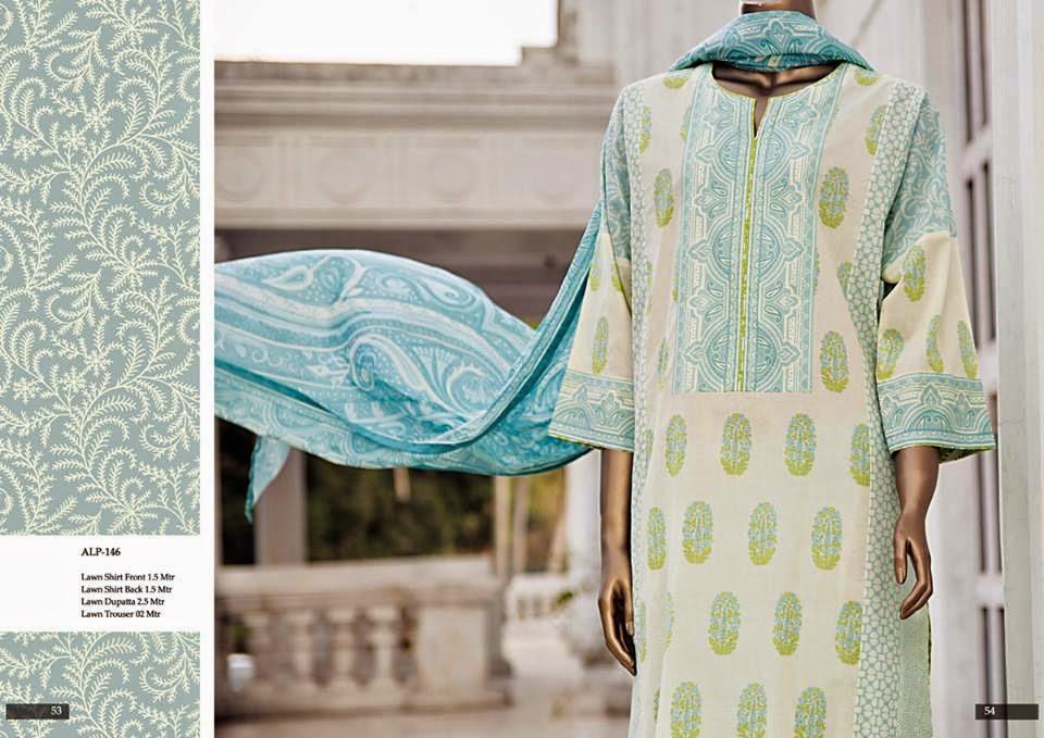 Almirah pakistani lawn collection