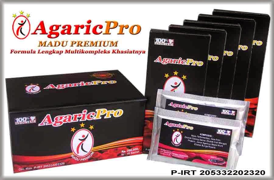 Produk Obat Herbal AgaricPro Tradisional Alami