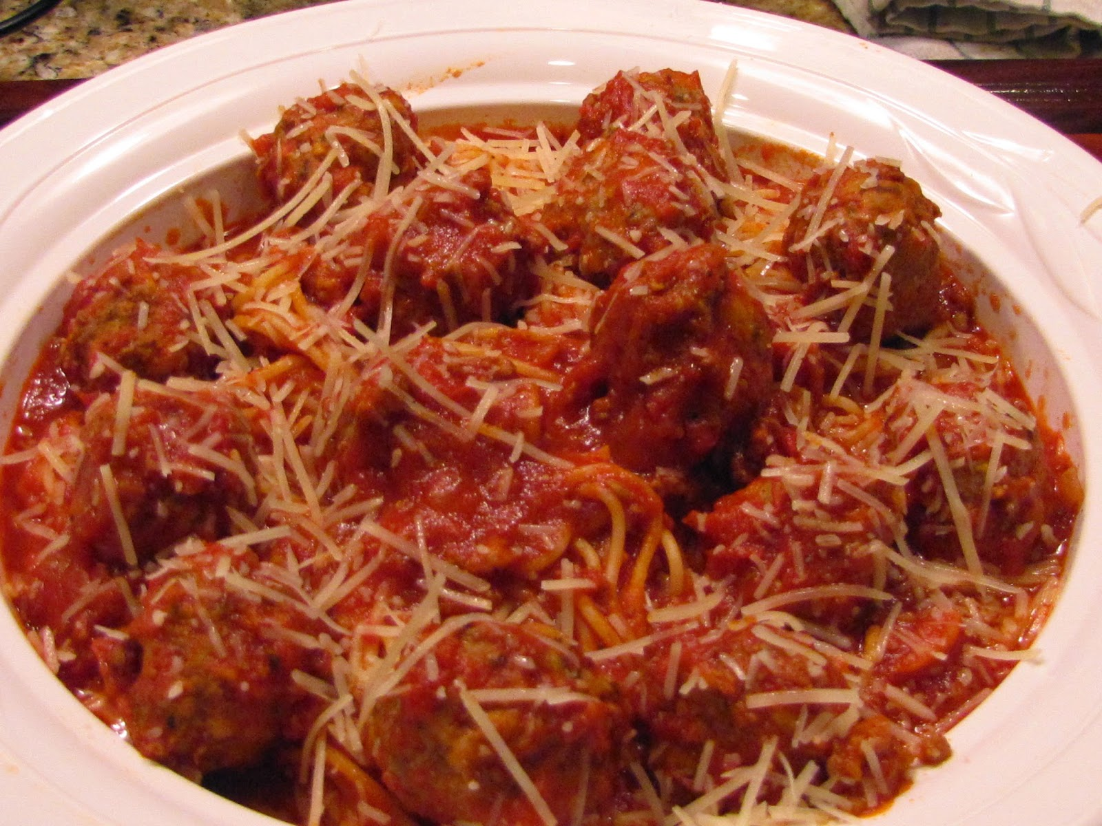 Big Mama's Home Kitchen: Spaghetti and Meatballs