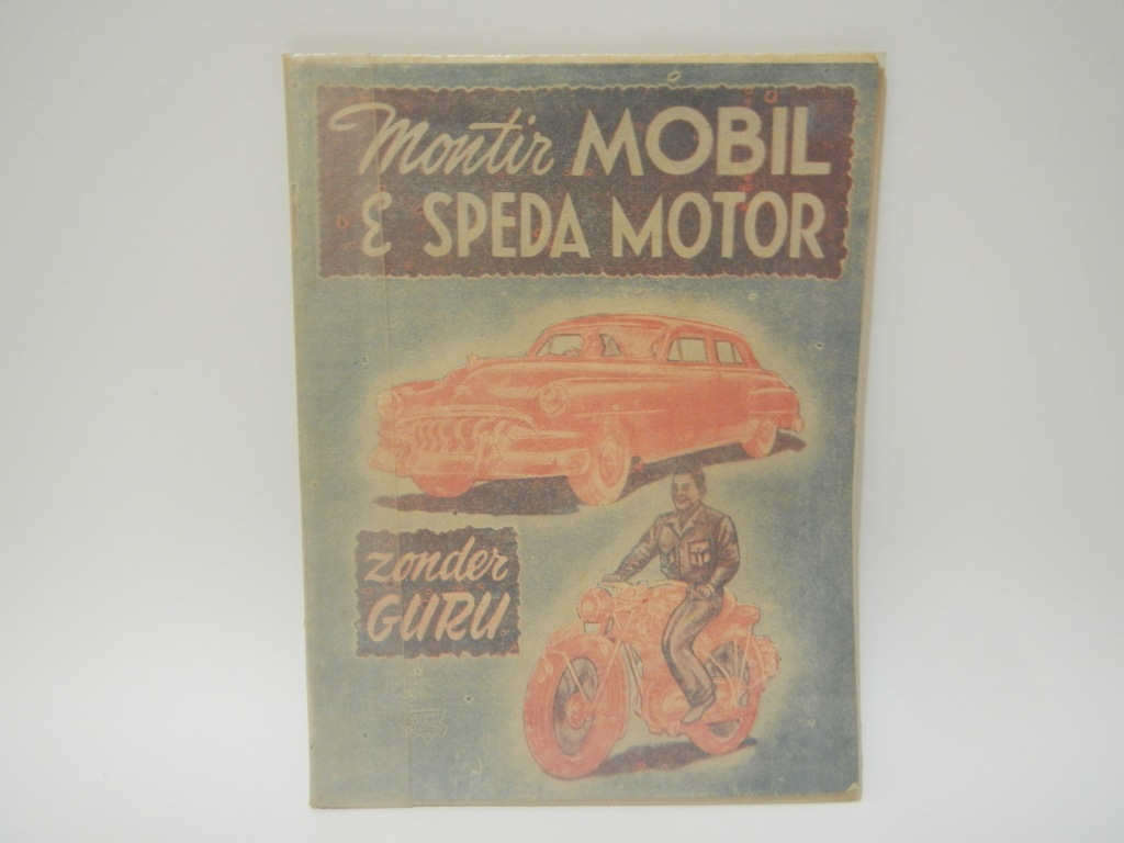 Buku Montir Mobil Dan Sepeda Motor Buku Tempo Doeloe