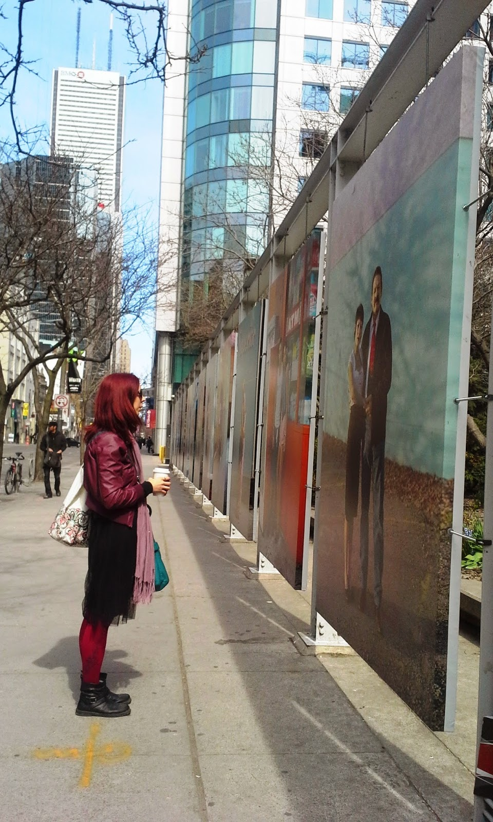 Scotiabank CONTACT Photography Festival: Touching Strangers by Richard Renaldi Exhibit, Toronto Culture Art Photos, Melanie.Ps, The Purple Scarf
