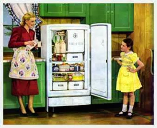 1940s fridge