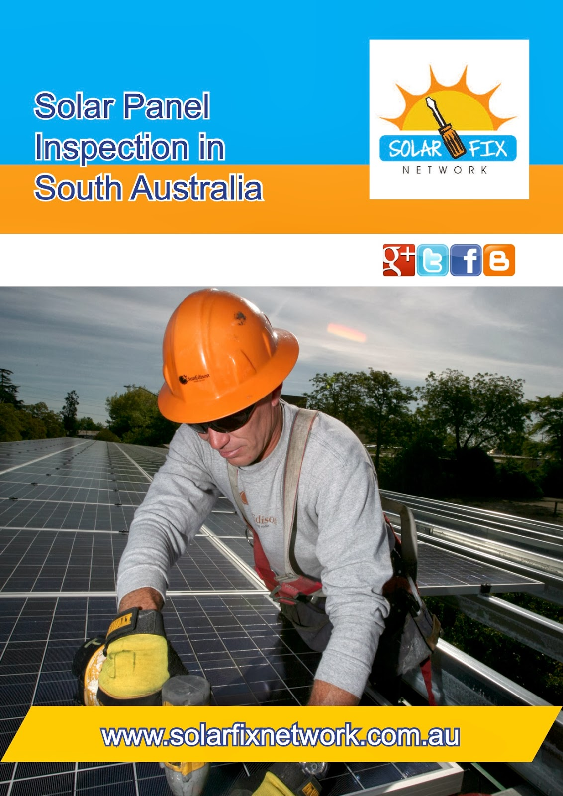 Solar Fix Network offer a full range of solar panel inspection and maintenance services