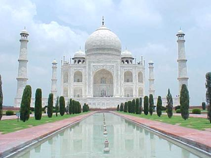 Taj Mahal Historical Places of  INDIA