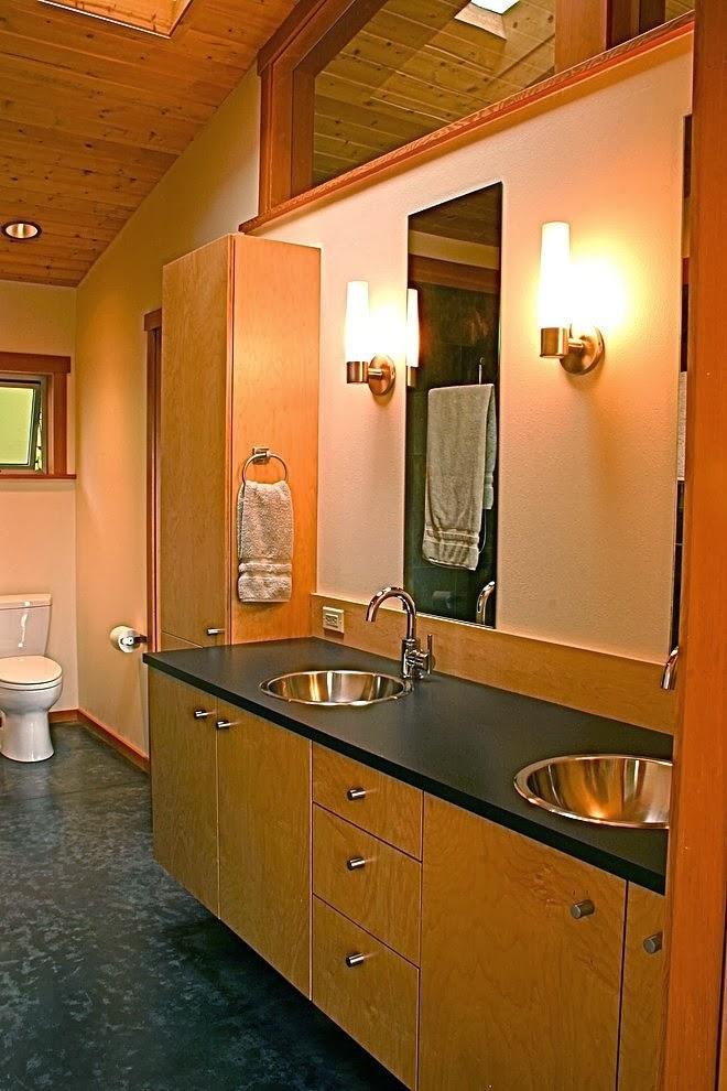 desain interior rumah kayu minimalis desain denah rumah