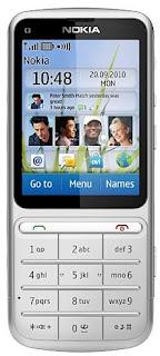Touch Type Mobile Nokia C3-01