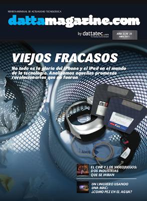 Imagen de la revista Dattamagazine número 31 (abril del 2011)