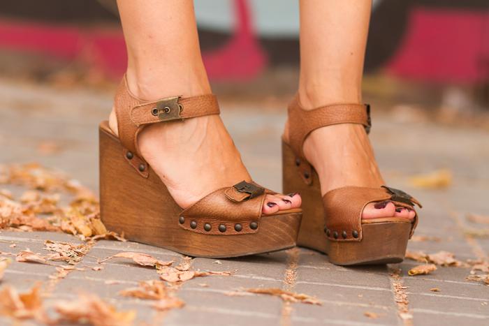 Cuñas de madera de Zara