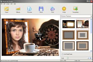 Photo Art Studio 3.27 - Aplikasi Untuk Dekorasi Foto