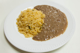 Refried Beans and Mexican Rice