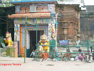 Lingaraia Temple in Orissa