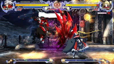 BlazBlue Calamity Trigger Gameplay Youtube